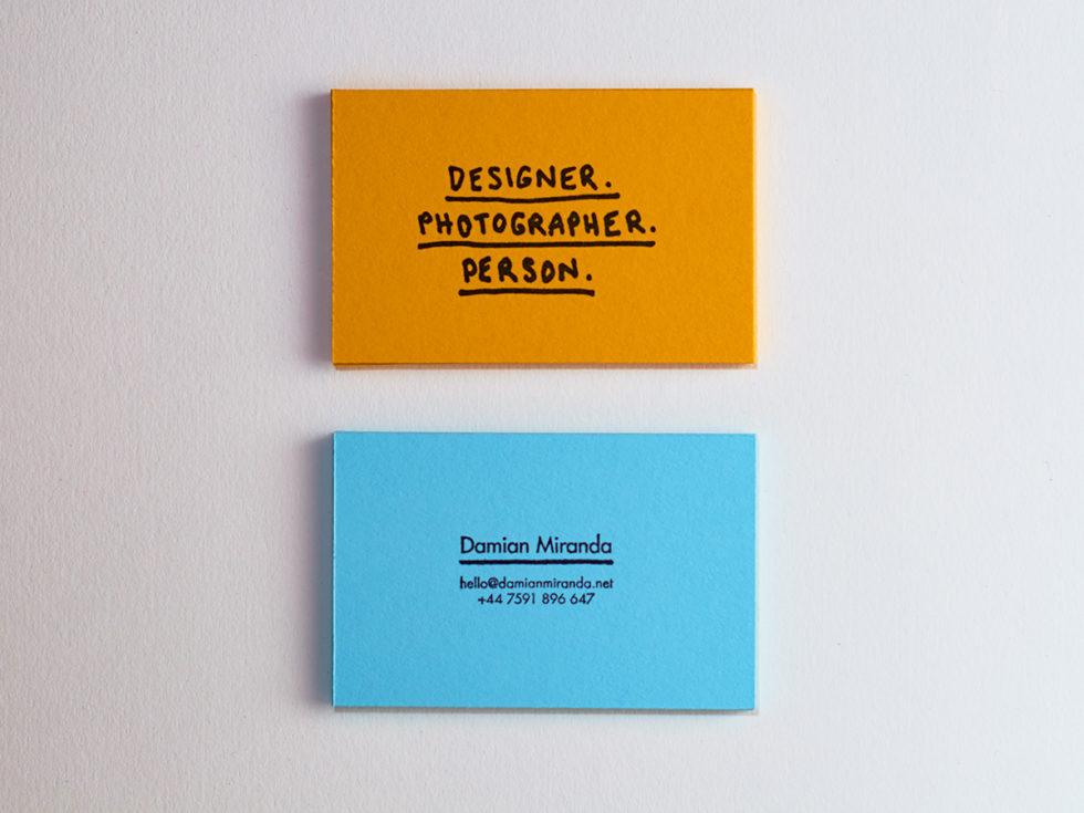 personal card archives damian miranda - Personal Card